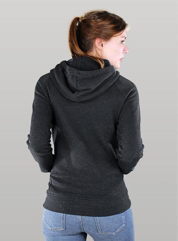 Mikina s kapucí MELAWEAR černá