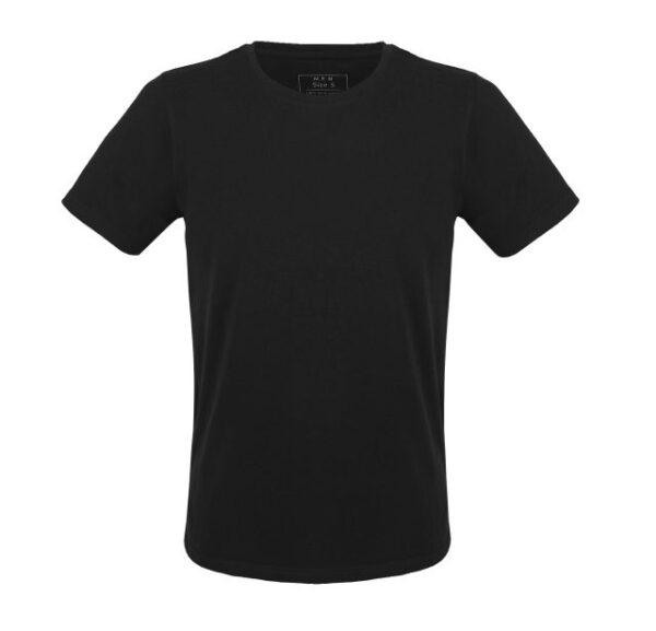 Pánské udržitelné tričko Melawear černé