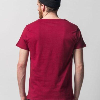Pánské udržitelné tričko Melawear červené