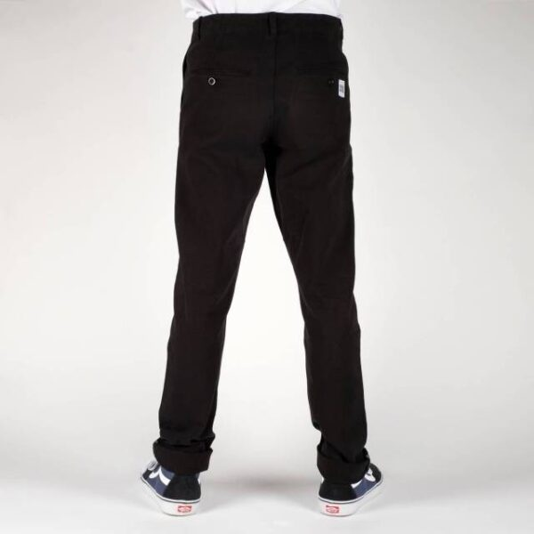 Pánské udržitelné kalhoty Dedicated Sudall černé