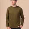 Pánské tričko Aroon khaki