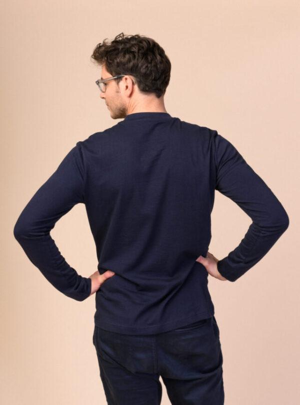 Pánské tričko Aroon navy