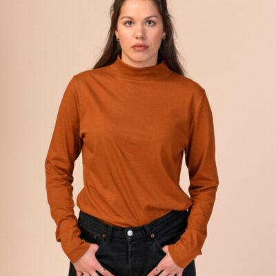 Dámské tričko Kala hnědé