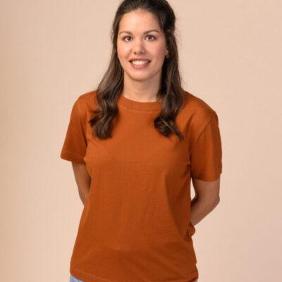 Dámské tričko Khira hnědé