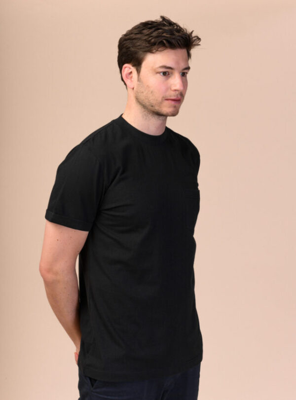 Pánské tričko Liem černé