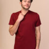 Pánské tričko Liem červené