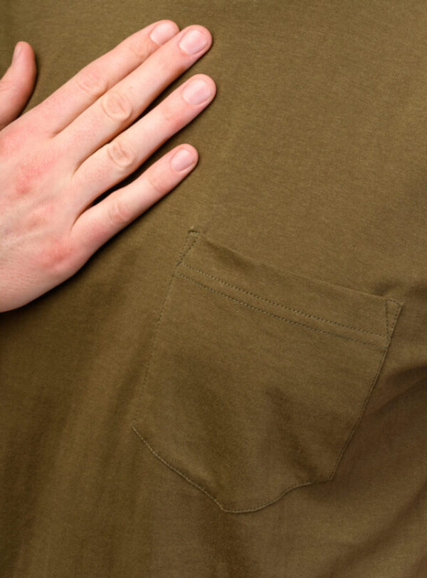 Pánské tričko Liem khaki