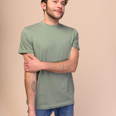 Pánské tričko Liem zeléné