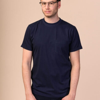 Pánské tričko Liem navy