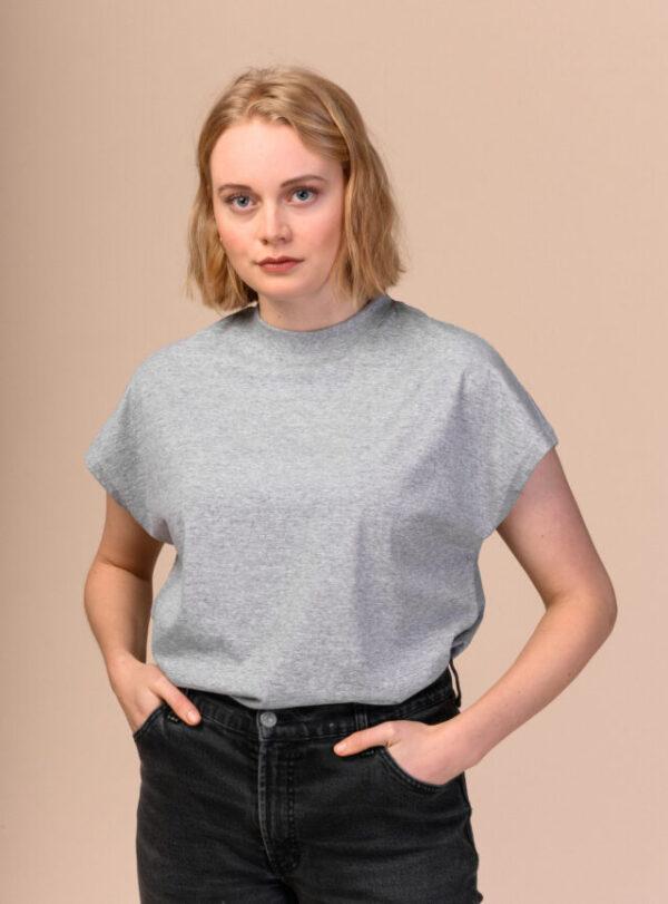 Dámské tričko Madhu šedé