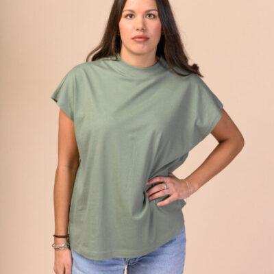 Dámské tričko Madhu zelené