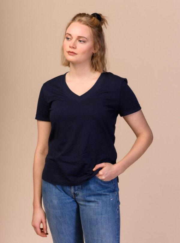 Dámské tričko Pria navy