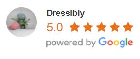 Dressibly hodnocení na Google